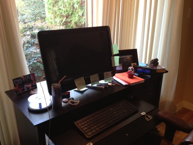 Cynthia Eden's desk