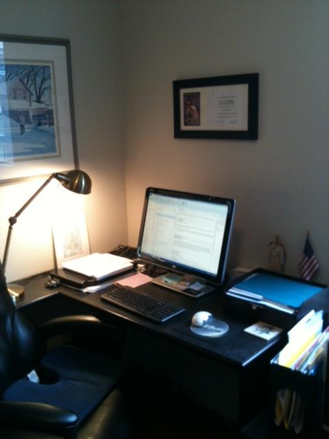 Vanessa Kelly's Desk
